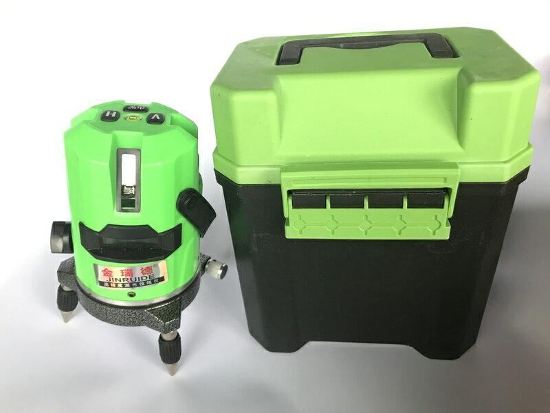 【小工人】綠光5線金瑞德水平儀 加強光綠外線雷射平水儀自動高精度打線儀