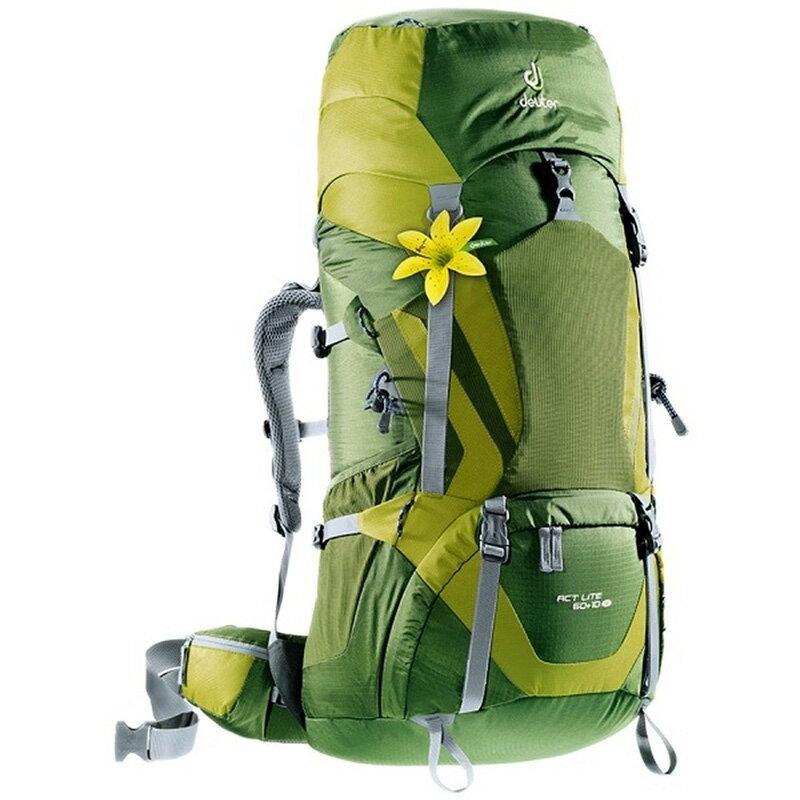 【露營趣】贈6好禮 德國 deuter 4340015 Act Lite 60+10SL 湖綠/綠 拔熱透氣背包 登山背包 自助旅行背包 登山包