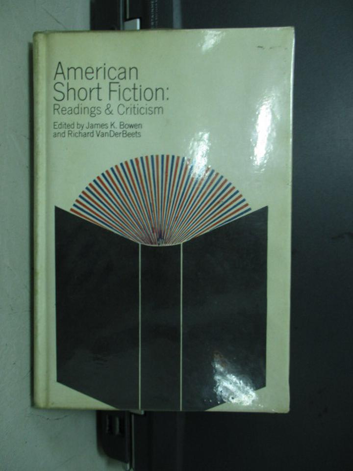 【書寶二手書T4/原文小說_KDI】American short fiction_民61