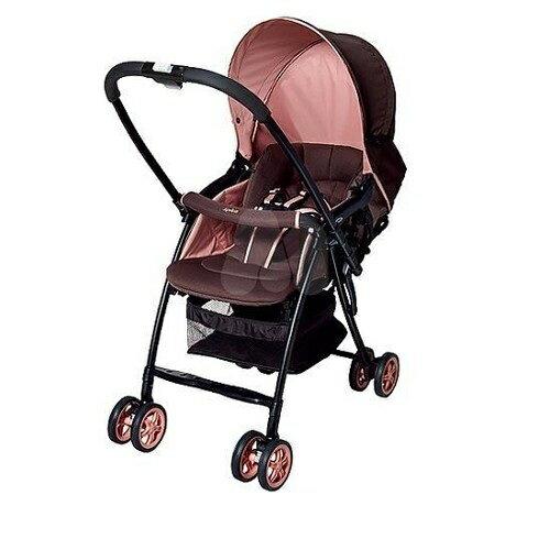 愛普力卡 Aprica Karoon 629 超輕量雙向平躺型嬰幼兒手推車(浪漫粉紅) 6450元