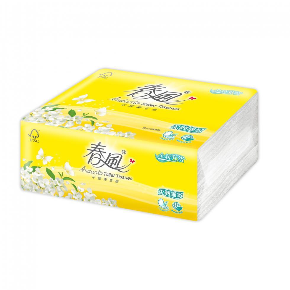 春風 衛生紙 -平版300張x6包x6串 成箱出貨