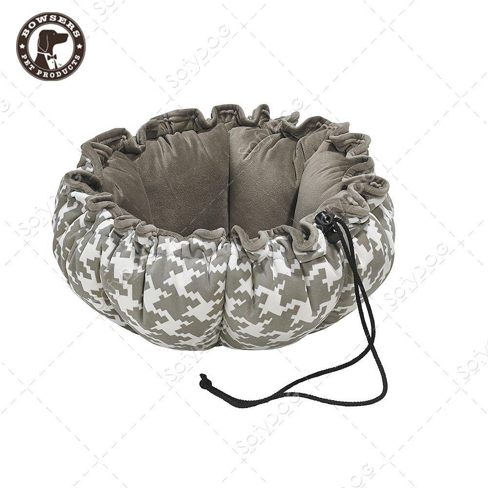 BOWSERS杯型極適寵物床-灰白千鳥紋-S - 限時優惠好康折扣