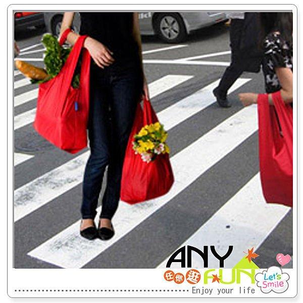 任你逛☆ 環保超市購物袋 收納袋 買菜手提袋 便利袋 可折疊便攜購物袋 anyfun【L3069】