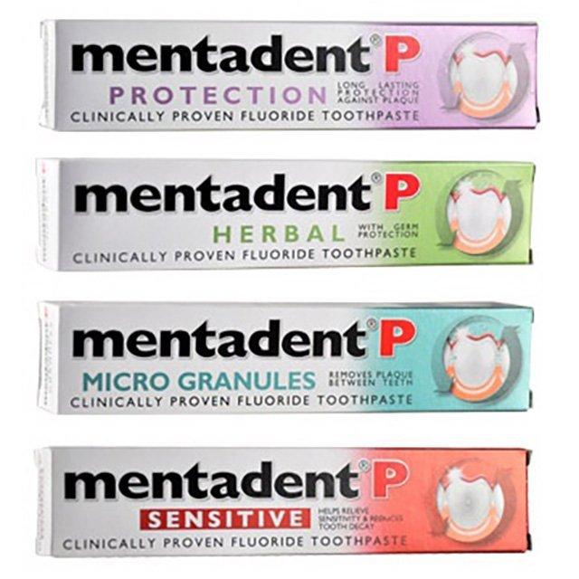 Mentadent P美達淨牙膏 100ml (原味、草本、微粒、敏感) 家庭必備 旅行 攜帶方便【生活ODOKE】