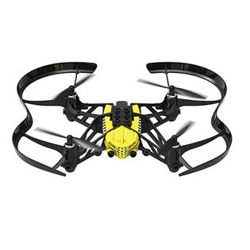 迪特軍3C:【迪特軍3C】ParrotAirborneCargo迷你智能遙控飛機(黃色Travis)