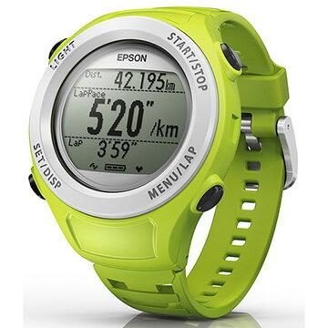【迪特軍3C】EPSON SF-110G 路跑教練GPS腕表(綠色) - 限時優惠好康折扣