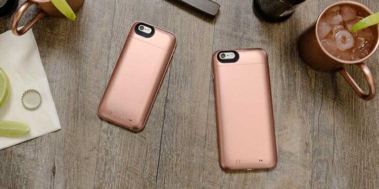 【迪特軍3C】mophie Juice Pack Air for iPhone 6/6S 背蓋電源(玫瑰金) 1