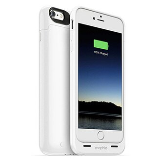 【迪特軍3C】mophie Juice Pack for iPhone 6/6S Plus 背蓋式電源(白)