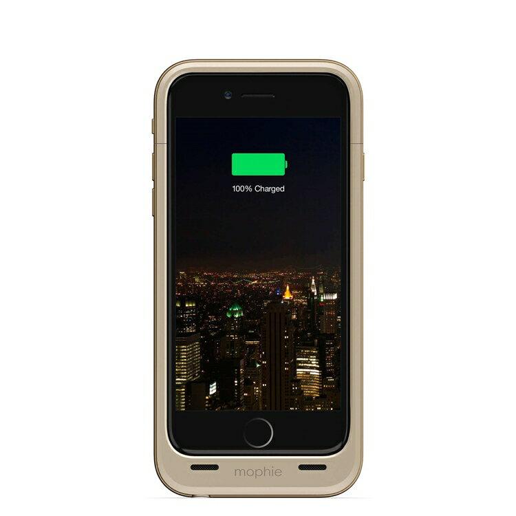 【迪特軍3C】mophie Juice Pack Plus for iPhone 6/6S 背蓋電源(金) 1