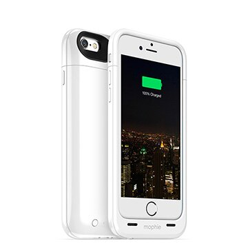 【迪特軍3C】mophie Juice Pack Plus for iPhone 6/6S 背蓋電源(白) - 限時優惠好康折扣
