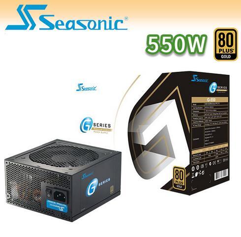 【迪特軍3C】海韻 Seasonic G-550W 80Plus 電源供應器 - 限時優惠好康折扣