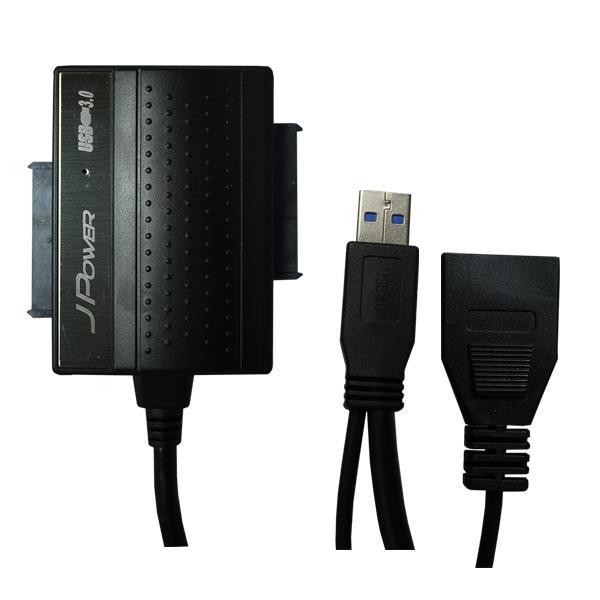 【迪特軍3C】 杰強 USB3.0 光速線 旗艦版 2.5吋/3.5吋 SATA to USB極速線/ 讀卡功能+2.5