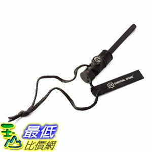 [107美國直購] 登山旅行外出打火棒生火用 Survival Spark Magnesium Survival Fire Starter with Compass and Whistle