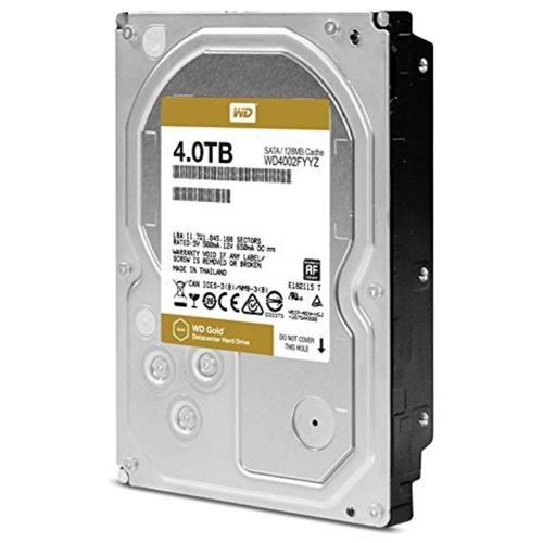 WD Gold 4TB high-capacity datacenter hard drive - SATA - 7200rpm - 128 MB Buffer 2