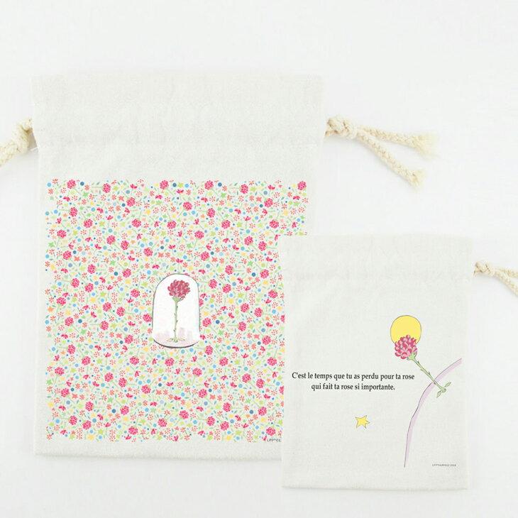 小王子經典版授權 - 束口袋:【 花花世界的呢喃 】