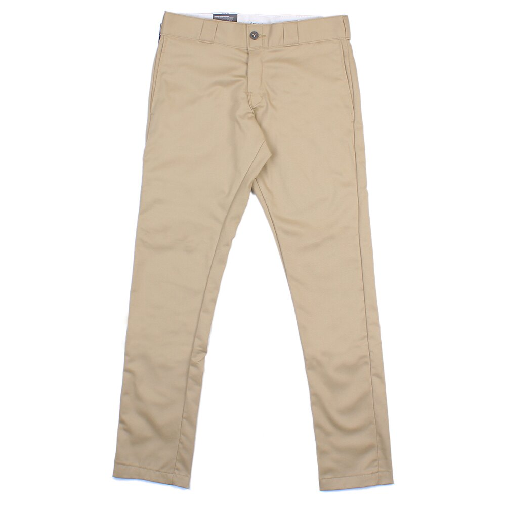 【EST】美版 DICKIES WP810 SLIM FIT WORK PANTS 窄版 工作褲 [DK-5006-537] 卡其 W28~36 F0108