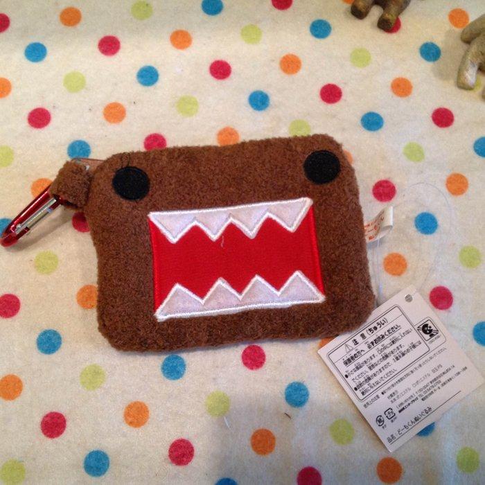 =優生活=【現貨出清】日本多摩君DOMO刺繡零錢包 卡套 悠遊卡包 包包掛飾