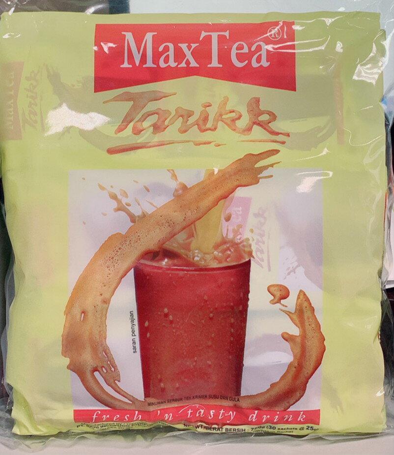 熱銷 MaxTea 奶茶 印尼拉茶 美詩泡泡奶茶 一袋 30包 沖泡 熱飲 香濃 隨身包