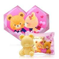 婚禮小物推薦到一定要幸福哦~~英國貝爾-熊熊抗菌皂50g-愛心款, 婚禮小物,送客禮,姐妹禮