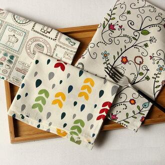 居家廚房 餐巾 棉麻布藝餐墊 桌布 桌墊/單售