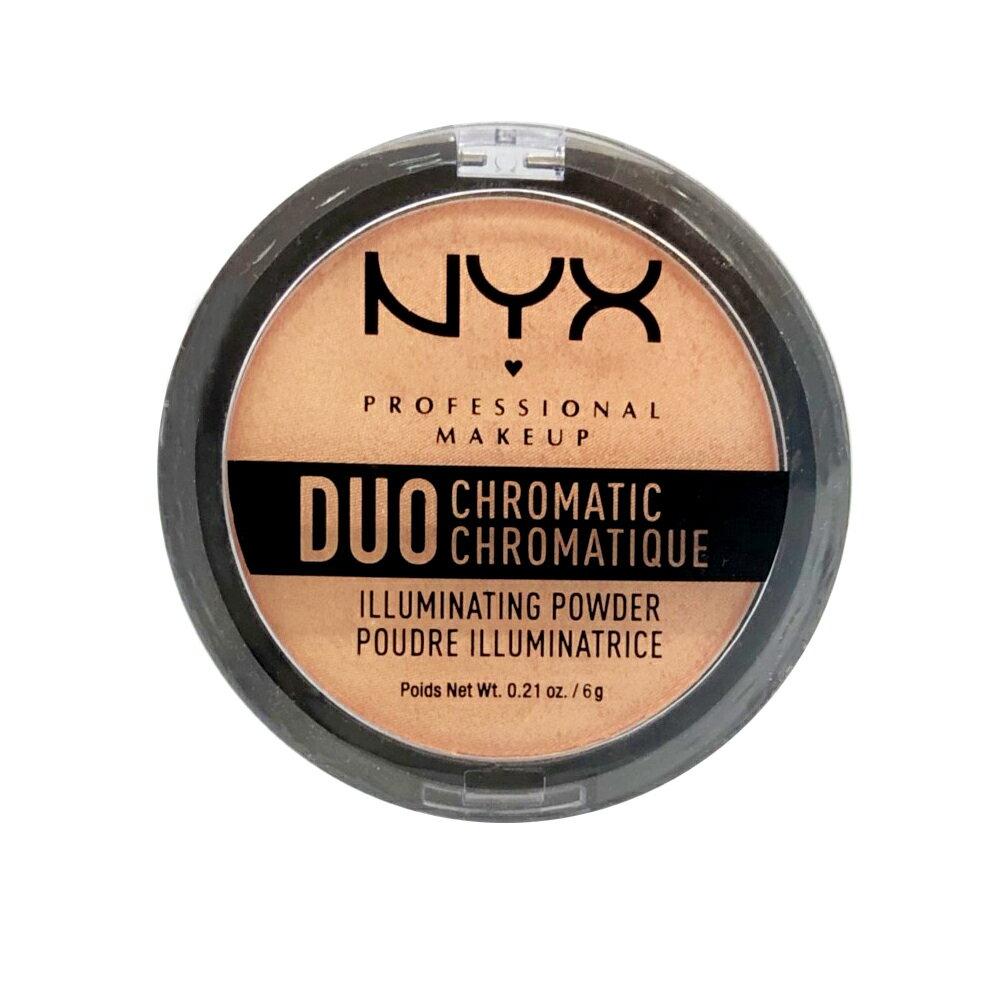 NYX 單色打亮/頰彩修容盤 Duo Chromatic Illuminating Powder 6g #05