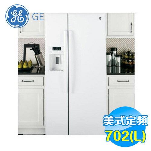 奇異 GE 702L 對開門冰箱 GSS23HGWW