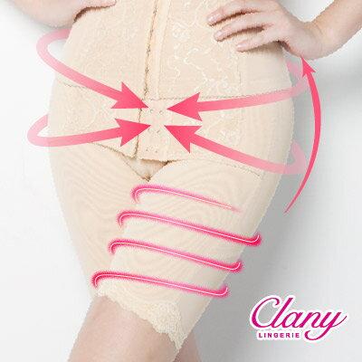 【可蘭霓Clany】560丹重機能塑腹M-2XL俏臀褲 神秘黑 1923-63 1