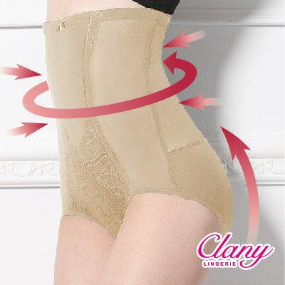 【可蘭霓Clany】高腰遠紅外線雕塑M-2XL纖體褲 春漾膚 1933-11 0