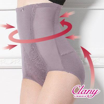 【可蘭霓Clany】高腰遠紅外線雕塑M-2XL纖體褲 春漾膚 1933-11 2