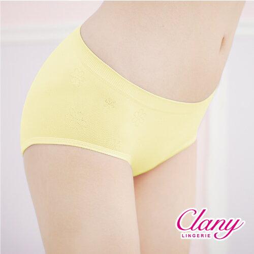 【可蘭霓Clany】繽紛馬卡Tactel 無縫M-Q中腰褲 神秘黑 2121-63 1