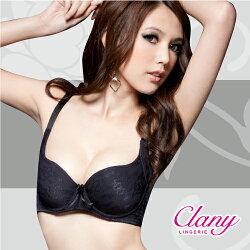 【可蘭霓Clany】無痕美型舒適調整BC內衣 神秘黑 6289-63