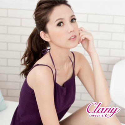 【可蘭霓Clany】有機棉Bra-Top M-XL背心 理智藍 6368-55 1