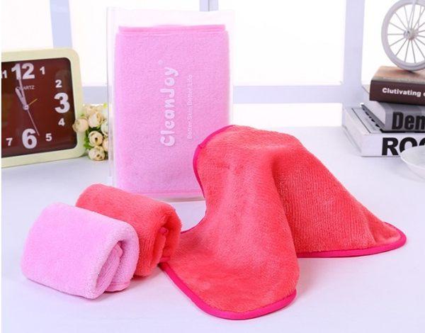 新款美容巾 神奇清水卸妝毛巾神器 懶人潔面巾【顏色不足隨機出貨】 B30403【H00609】
