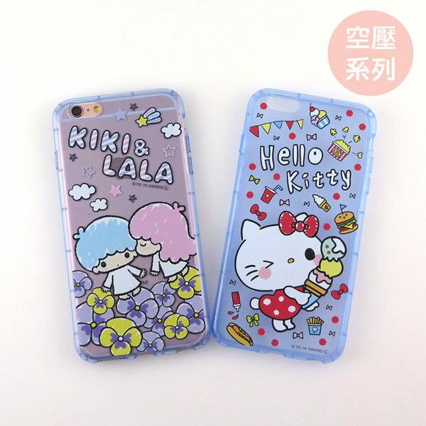 【Sanrio 】iPhone 5 /5S /SE 防摔氣墊空壓保護套-Q版系列