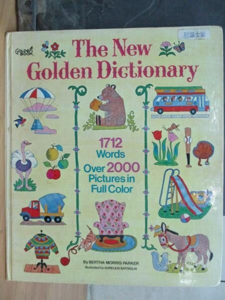 ~書寶 書T9/語言學習_WGF~The New Golden Dictionary