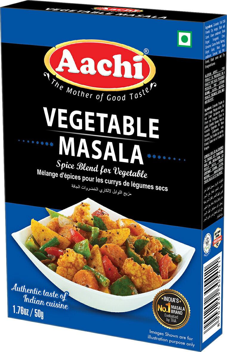蔬菜咖哩粉  Vegetable Masala AACHI 50gm