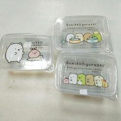 大賀屋 正版 角落生物 便當盒 保鮮盒 置物盒 飾品盒 食品盒 盒子 餐盒 SAN-X 角落小夥伴 T00120416