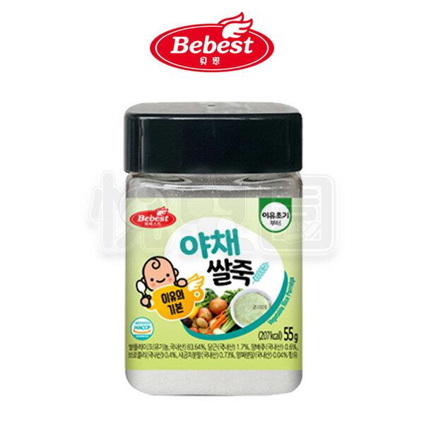 韓國Bebest貝思寶寶粥-蔬菜55g【悅兒園婦幼生活館】