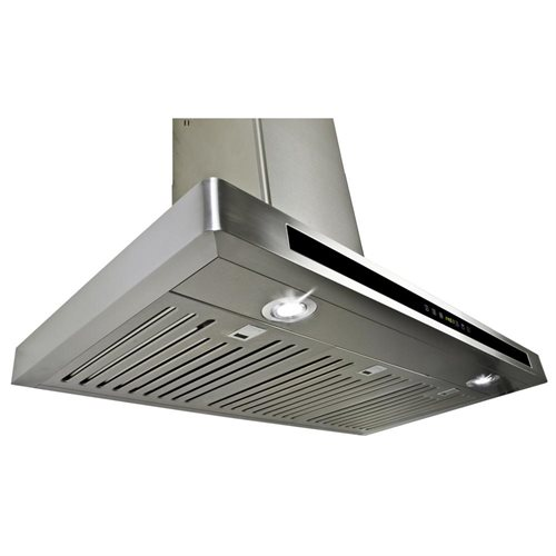 "AKDY 36"" GV-H503A90CF Stainless Steel Wall Range Hood Carbon Filter Included For Ventless/Ductless Options 3"