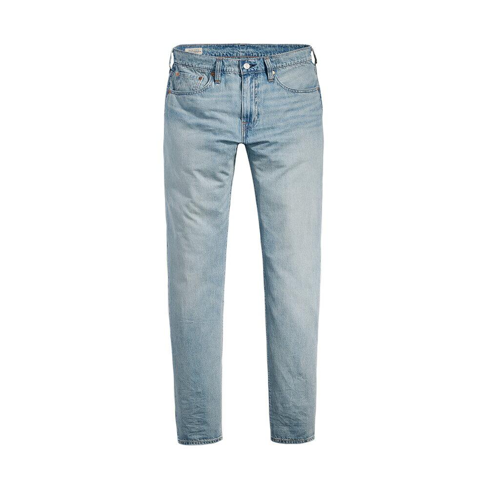 Levis 男款 上寬下窄  /  502 Taper 牛仔褲  /  淺藍洗舊  /  及踝款 1