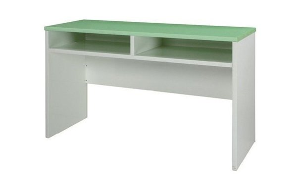 石川家居:【石川家居】932-23(綠白色)書桌(CT-410)#訂製預購款式#環保塑鋼P無毒防霉易清潔