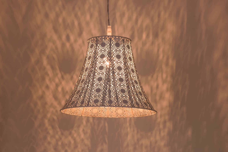鄉村風米白吊燈-BNL00074 5