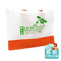 【客製化】兩色不織布肩背購物袋 環保袋  H-A90-3150-006-001 HFPWP