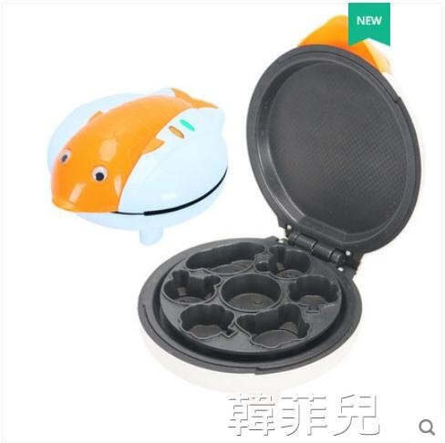 雞蛋仔機 奧貝斯電餅鐺迷妳自動家用多功能雙面加熱薄餅煎餅烘培蛋糕早餐機 MKS