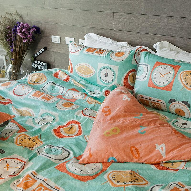 床包  單人~早安bonjour~含一件枕套,100^%精梳棉,在巴黎遇見系列,戀家小舖