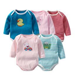 四季包屁衣 純棉嬰兒 寶寶連身爬服 LS2102