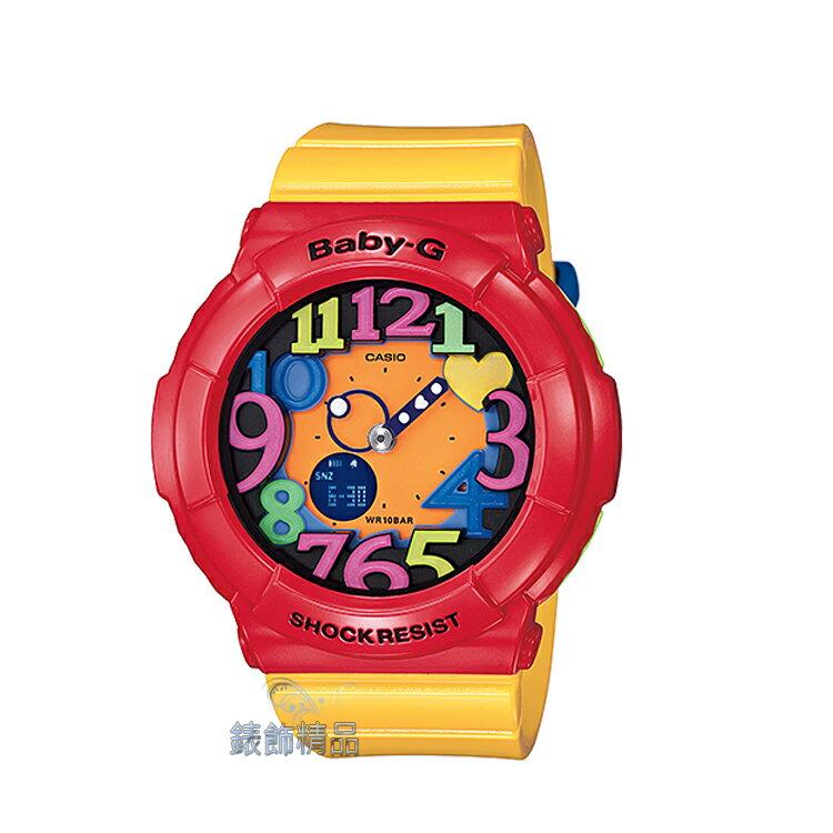 ~錶飾 ~ 卡西歐CASIO Baby~G立體時標 復古色調 BGA~131~4B5DR