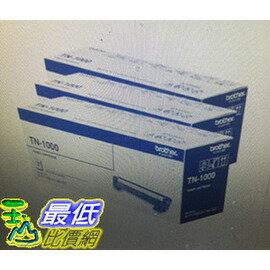 <br/><br/> [COSCO代購 如果沒搶到鄭重道歉] Brother 碳粉匣 TN-1000X3入 _W107558<br/><br/>