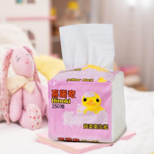 喜諾奇小鴨抽取式面紙 250抽90包 整箱出貨 衛生紙 餐巾紙【全店免運】