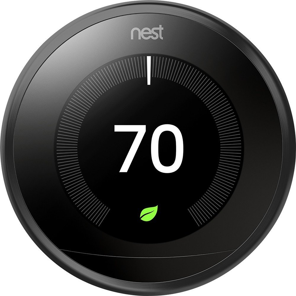 Nest Learning Professional Version 3rd Generation Thermostat, Carbon Black (T3016US) 0